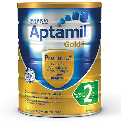 Karicare Aptamil Gold+ Stage 2 Baby Formula From 6 Months 900g