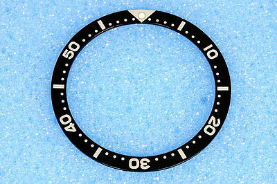 Old Model Black Bezel Insert for Seiko Divers 7002 and 6309