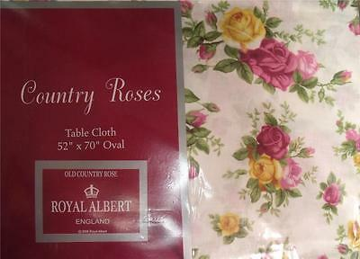Royal Albert Old Country Roses Tablecloth / Napkins Various Sizes Rose New