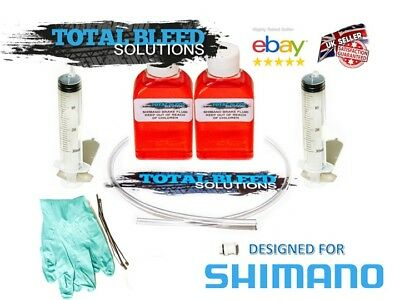 Shimano Brake Bleed Kits - Top up to Funnel Type. 5ml 50ml 100ml ++ Options!