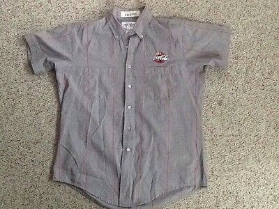 Coca Cola Coke Delivery Guy Work Shirt 16.5