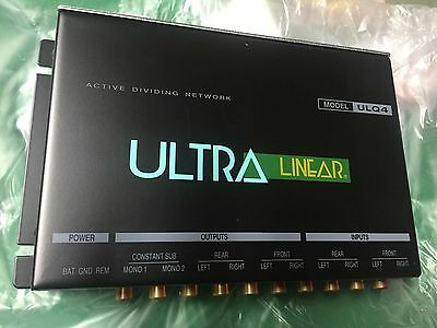 NEW Old School Ultra Linear ULQ4 Active Dividing Network,EQ,Rare,NOS,Vintage