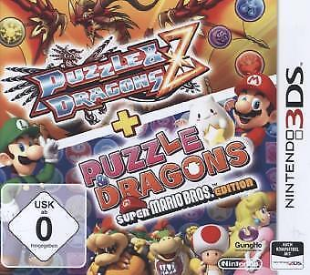 Nintendo 3DS Puzzle and Dragons Z + Puzzle and Dragons: Super Mario NEW