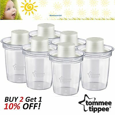 Tommee Tippee CLOSER TO NATURE 6 MILK POWDER/FORMULA DISPENSER Bottle Feeding BN