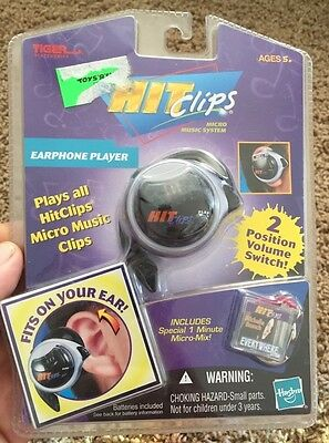 Hit Clips Earphone Player New Sealed Tiger Electronics