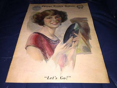 October 14 1923 Chicago Sunday Tribune Coloroto Magazine Full Issue Ads Photos