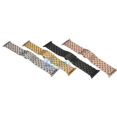 38mm 42mm Stainless Steel Watch Band Butterfly Lock Strap For Apple Watch iWatch