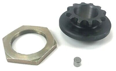 Rotax Max Kart 11t Clutch Sprocket with Pin and Nut
