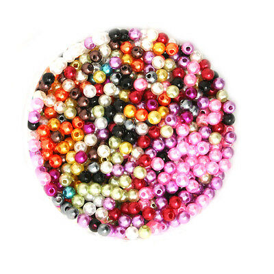 Lot 50 Perle imitation Brillant 4mm Mix Creation Bijox, Collier ...