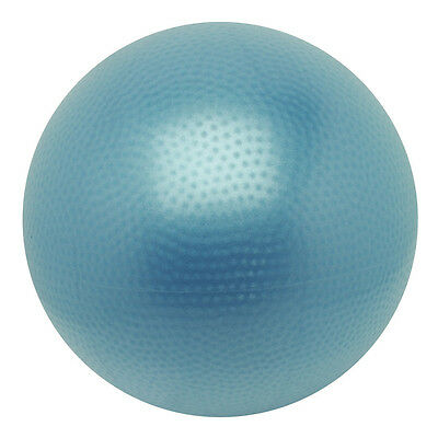Over Ball - 26 cm blau Yoga Pilates Gymnastik Rücken Fitness Entspannung 0852A4