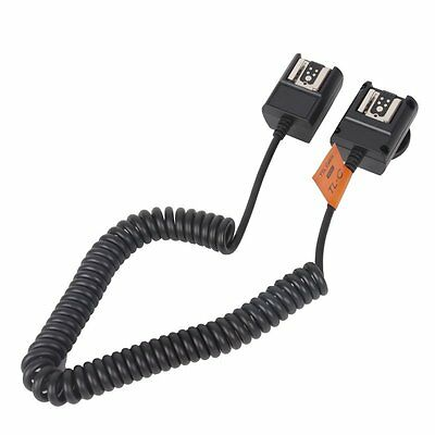 3M TTL Off Camera Hot Shoe Flash Sync Cable Cord For Canon Speedlite As OC-E3