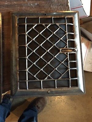 Tc 19 Two Available Antique Sheet Metal Wall Heating Grates Priced Separate