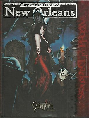 THE WORLD OF DARKNESS - City of Damned NEW ORLEANS- MODULO GIOCO RUOLO AMERICANO