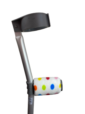 padded Handle Comfy Crutch  Covers - Multi Spots