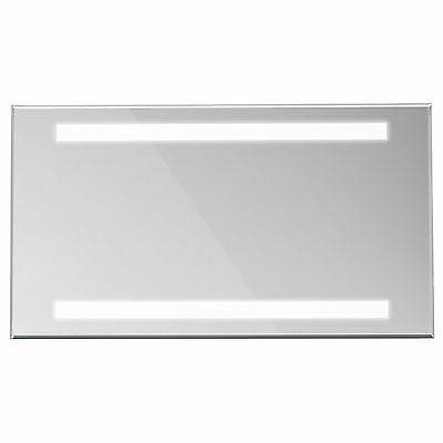 ENKI 700 x 500 Backlit Illuminated Bathroom Wall LED Mirror Vertical Horizontal