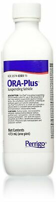 New Ora-Plus Oral Suspending Vehicle - 16 Ounce (Pack of 3)