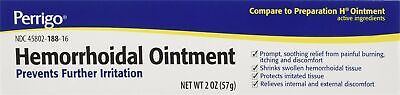 New Perrigo Hemorrhoidal Pain Relief Ointment - 2 Ounce (Pack of 3)