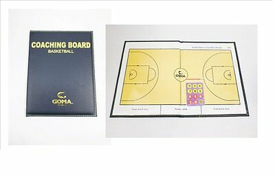 GOMA Basketball Coaching Board (size after folded: 21 X27.5CM) SB-BF8 +
