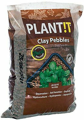 PLANT!T GMC10LClay Pebbles 10L 4mm-16mm Size:Glossy Exclusive Paper 100% natural