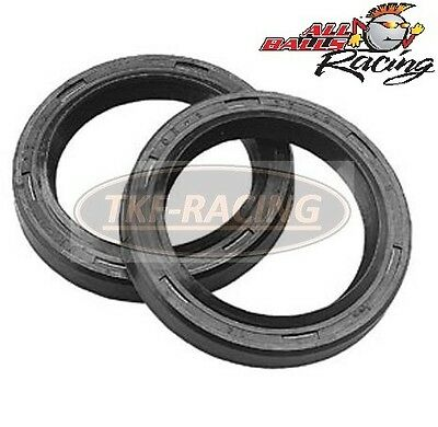 Front Fork Replacement Oil Seals Set All Balls Kit Pair Fits Honda Vfr400 90-91