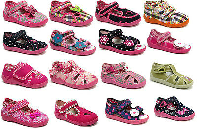 GIRLS SANDALS BABY Children Kids Toddler Infant Casual Canvas Shoes Fasten