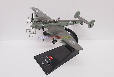 1 x New 1/100 Diecast Planes German BF-110 G-4 1944 WWII Model Toy Soldiers
