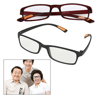 Mens Ladies Frame Magnifying Reading Glasses Nerd Spectacle +1.0+4.0