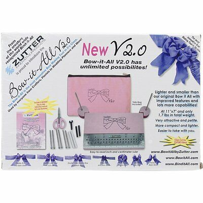 Zutter Bow-It-All, V2.0 (7634) Lighter and smaller 7x11 inch bow  BRAND NEW