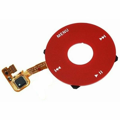 For iPod 6 Classic 80GB 120GB 160GB U2 click wheel red color without dot