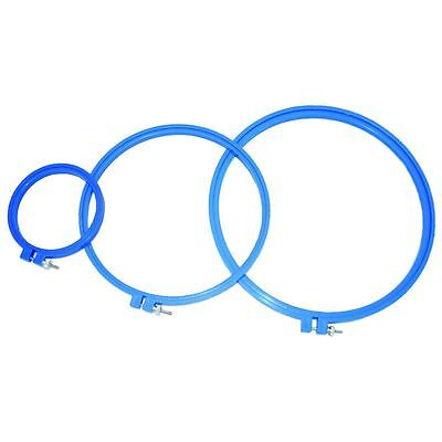 Siesta 4 inch Supergrip Embroidery Hoop Ring Round Cross Stitch Sewing Tools