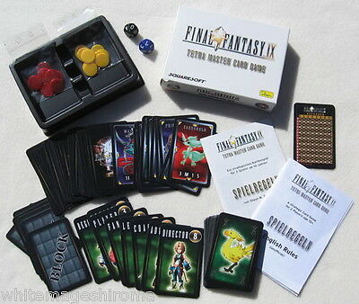 Final Fantasy IX 9 Tetra Master Card Game Squaresoft Limited Edition 2000 7 NEW!