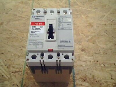 CUTLER-HAMMER 600VAC/3PH/60Hz 30A INDUSTRIAL CIRCUIT BREAKER SERIES C FDB3030L