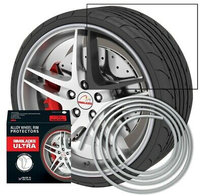 NEW - Rimblades with 3M glue - Singlepack - colour: silver - Premium rim protect
