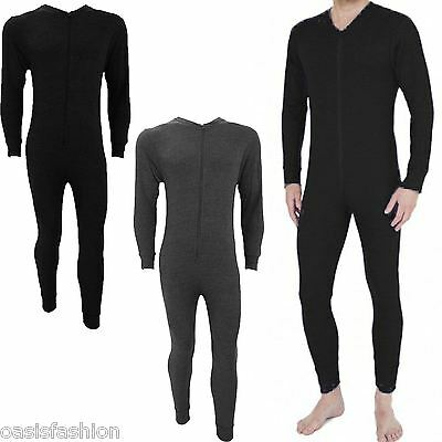 New MensThermal Onesie All In One Underwear Zip Up Suit Baselayer Ski Not Gerber