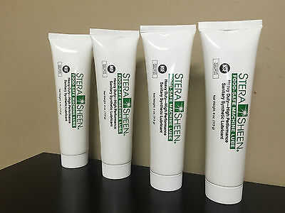Stera Sheen Food Safe Machine Lube 4 ounce tubes, lot of 4