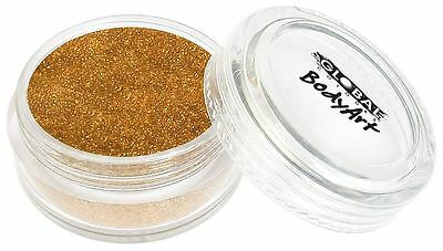 BodyArt Glitter Dust - Holographic Gold Makeup Fancy Dress Party Accessories