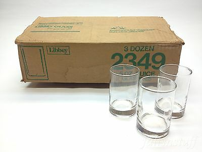 Libbey Lexington 5 oz Juice Glass - 2349 - CASE of 36 Glassware Lot  Clear Cup