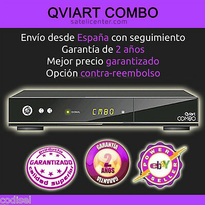 Receptor Qviart COMBO V2,+TDT2 HD. +IVA+PORTES ICNLUIDOS