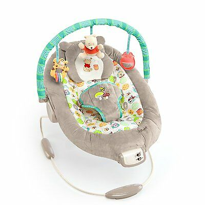 Disney Baby Winnie The Pooh Bouncer, Dots and Hunny Pots 60256 7 melodies CXX