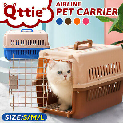 Airline Approved Pet Carrier Portable Tote Crate Case Kennel Travel Carry Bag