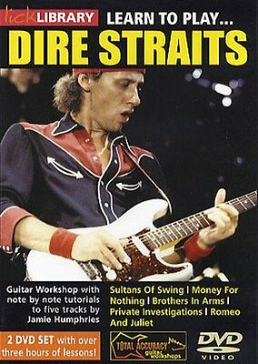 Lick Library: Learn To Play Dire Straits Gitarre 2 x DVD (Region 0)