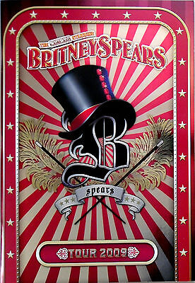 BRITNEY SPEARS * THE CIRCUS TOUR PROGRAMME w/ OFFICIAL PIN PACK * HTF! * BN&M!