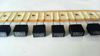 10Pcs T3.15A 250V Fuse Square Subminiature Time-Delay SS-5-3.15A-AP