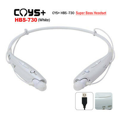 CYS+ CYSHBS-730 Wireless Stereo Headset bluetooth with 3 Size Ear Rubbersth Ster