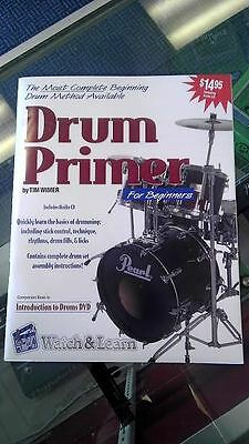 Drum Lesson Book for Beginners with Audio CD