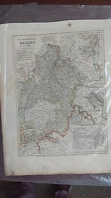1849 Joseph Meyer Map of Hesse, Germany