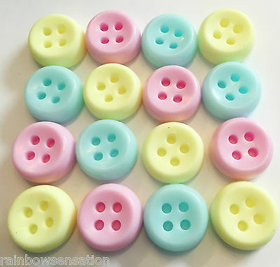BUTTON SOAPS - Baby Shower Favours Gifts Boy Girl Unisex Christening Baptism