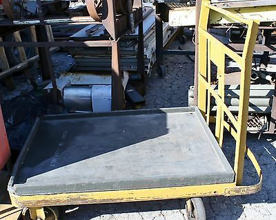 "Heavy Duty Warehouse Platform Cart 53"" L x 46"" H x 36"" W"