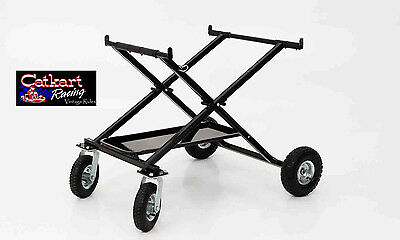 New Rlv Super Heavy Duty Rolling Go Kart X Stand Folds For Easy Storage