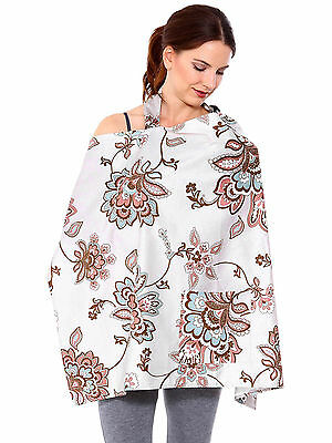 New Comfort Baby Mum Nursing Cover Up Breastfeeding Covers Cotton Blanket Shawl